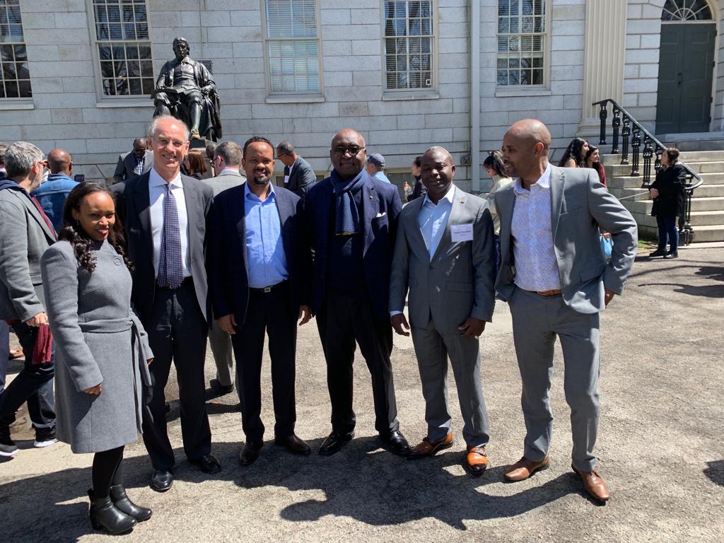 Donald Kaberuka ancien Président de la Banque Africaine de Développement (BAD) et membre du C.A du programme.